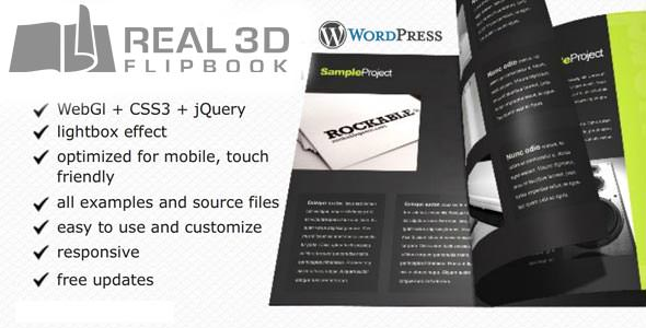 Real 3D FlipBook - WordPress Plugin v3.1