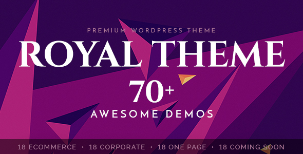 Royal - Multi-Purpose WordPress Theme v4.4