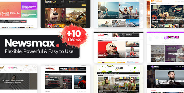 Newsmax v1.7 - Multi-Purpose News & Magazine Theme