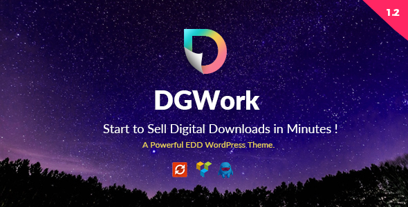 DGWork v1.3 - Business Theme For Easy Digital Downloads