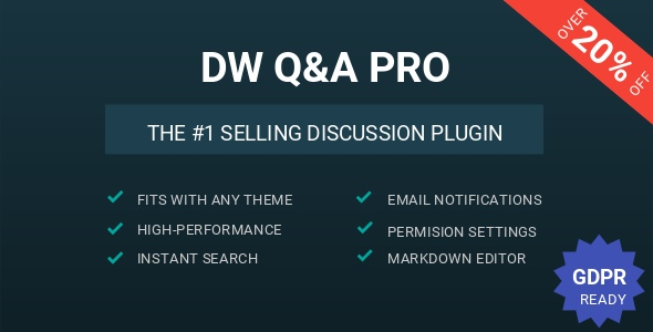 DW Question & Answer Pro v1.1.5 - WordPress Plugin