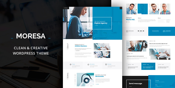 Moresa v108 business wordpress theme accmission Gallery