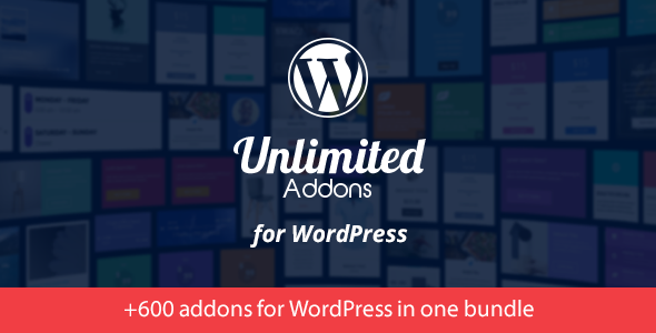 Unlimited Addons for WordPress v1.3.5.6