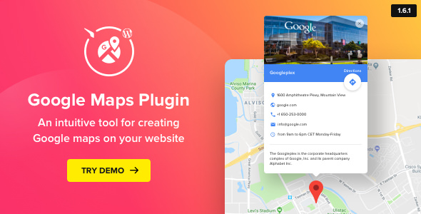 Download Free] Google Maps v1.6.1 - WordPress Map Plugin on 3d street maps free, animation download free, google earth 2012, android download free, street map template free, map clip art free, google maps print free,