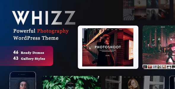 Whizz v2.0.0 - Photography WordPress for Photography