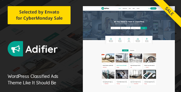 Download] Adifier v3 4 - Classified Ads WordPress Theme