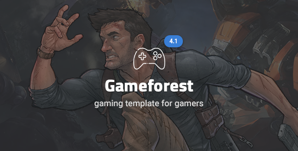 Game Forest v4.1.2 - Gaming Theme HTML