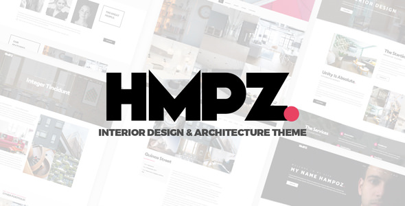 Hampoz v1.1.3 - Responsive Interior Design & Architecture Theme