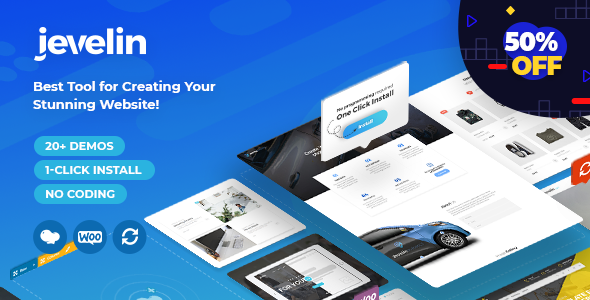 Jevelin v3.3.0 - Multi-Purpose Premium Responsive Theme