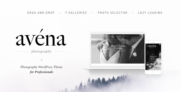 Avena v1.0.2 - Photography WordPress for Professionals