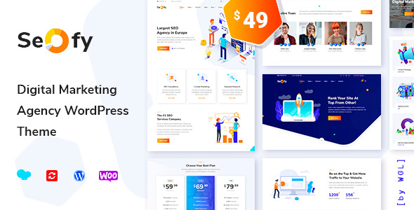 Seofy v1.2.1 - Digital Marketing Agency WordPress Theme