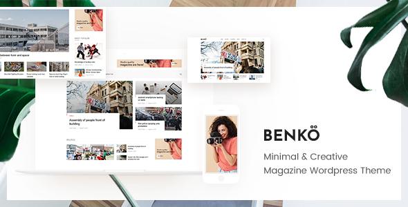 Benko v1.0.1- Creative Magazine WordPress Theme