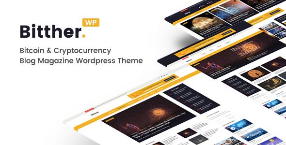 Bitther v1.0.5 - Magazine and Blog WordPress Theme