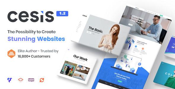 Cesis v1.2.2 - Responsive Multi-Purpose WordPress Theme