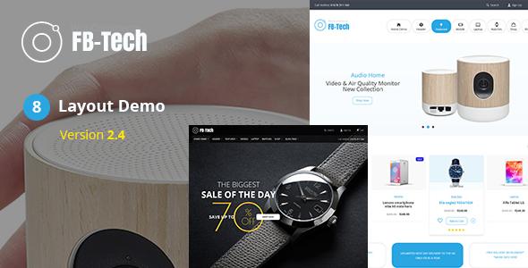 FB-Tech v2.4 - Digital RTL WooCommerce Theme
