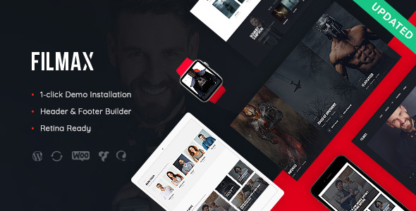 Filmax v1.0 - Movie Magazine WordPress Theme