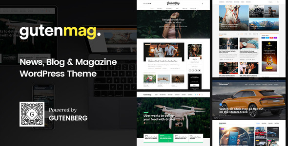 GutenMag v1.1.2 - Gutenberg WordPress Theme for Magazine and Blog