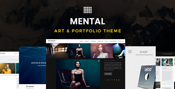 Mental v2.3.0 - Art & Portfolio Theme