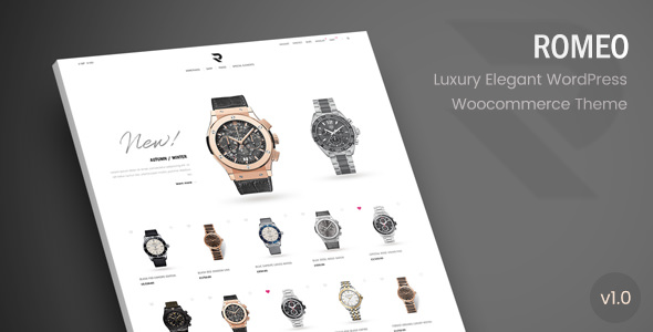 Romeo v1.1 - Luxury Modern WooCommerce WordPress Theme