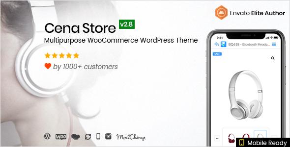 Cena Store v2.8.1 - Multipurpose WooCommerce WordPress Theme