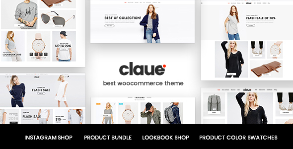 Claue v1.5.4 - Clean, Minimal WooCommerce Theme