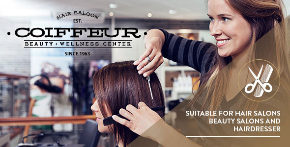 Coiffeur v4.1 - Hair Salon WordPress Theme