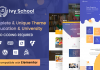 Ivy School – Education, University & School WordPress Theme