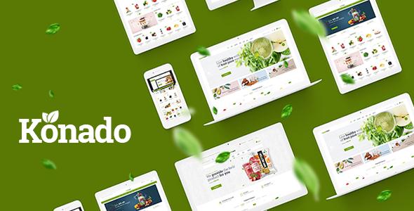Konado v1.0.2 - Organic Theme for WooCommerce