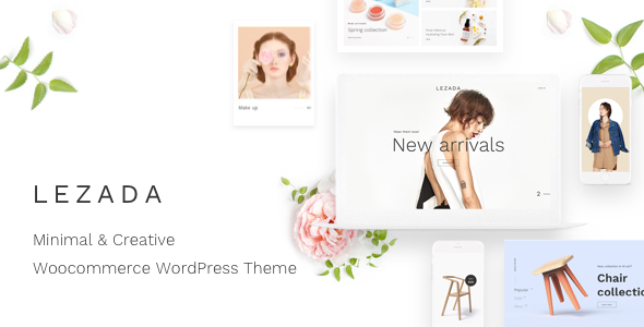 Lezada v1.3.0 - Minimal & Creative WooCommerce Theme