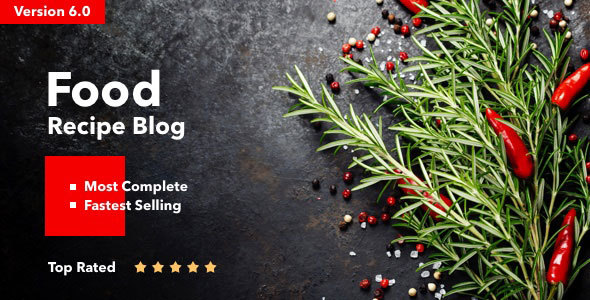 Neptune v6.3.2 - Theme for Food Recipe Bloggers & Chefs