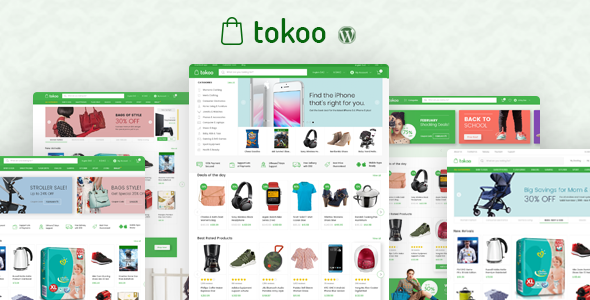 Tokoo v1.1.0 - Electronics Store WooCommerce Theme
