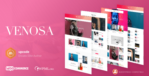 Venosa v1.0.6 - Magazine & Blog WordPress Theme