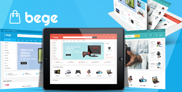 Bege v1.3.3 - Responsive WooCommerce WordPress Theme