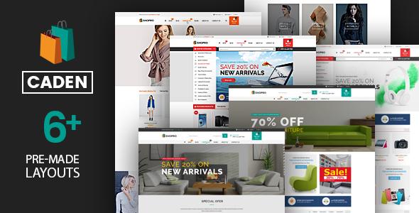 Caden v1.3.3 - Mega Store Responsive WordPress Theme