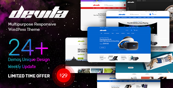 Devita v1.6.3 - Multipurpose Theme for WooCommerce