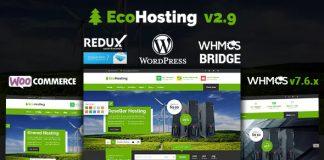EcoHosting v2.9 - Responsive Hosting and WHMCS Theme