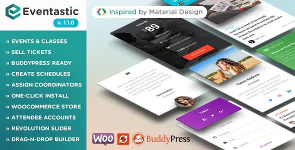 Eventastic v1 1 0 - Multipurpose Theme for Events & Classes