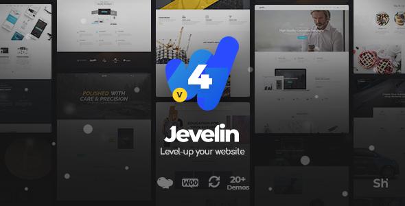 Jevelin v4.1.4 - Multi-Purpose Premium Responsive Theme