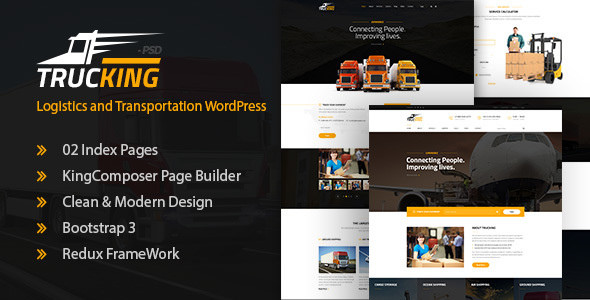 Trucking v1.6 - Logistics and Transportation Theme