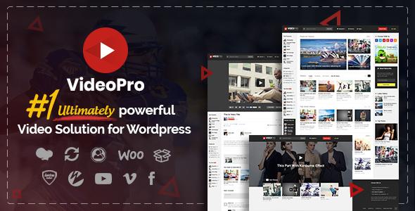 VideoPro v2.3.6.1 - Video WordPress Theme