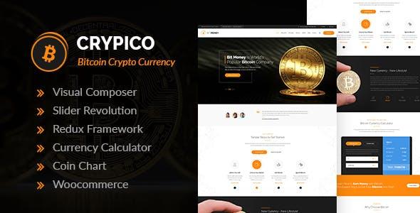 Crypico v1.3 - Crypto Currency WordPress Theme