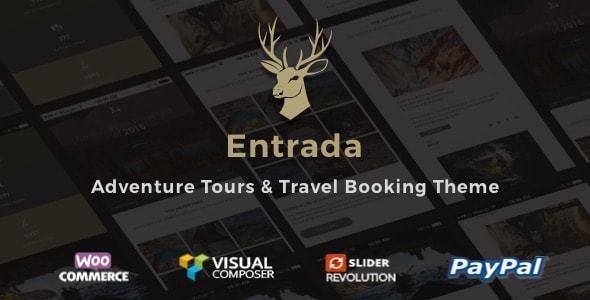 Entrada v3.7.8 - Tour Booking & Adventure Tour