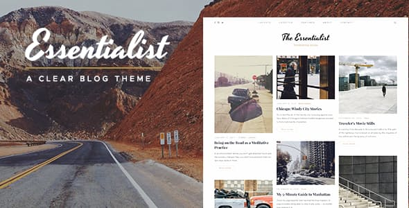 Essentialist v1.2.2 - A Narrative WordPress Blog Theme