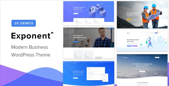Exponent v1.0.5 - Modern Multi-Purpose Business Theme