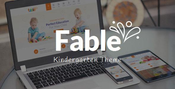 Fable v3.3 - Children Kindergarten WordPress Theme