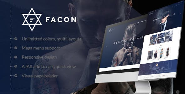 Facon v1.2 - Fashion Responsive WordPress Theme