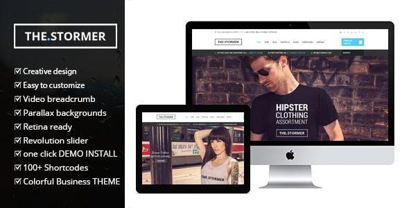 Fashion Stormer v2.0 - eCommerce Fashion Theme