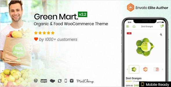 GreenMart v2.2.3 – Organic & Food WooCommerce Theme
