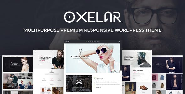 Oxelar v1.2.1 - Fashion Responsive WordPress Theme