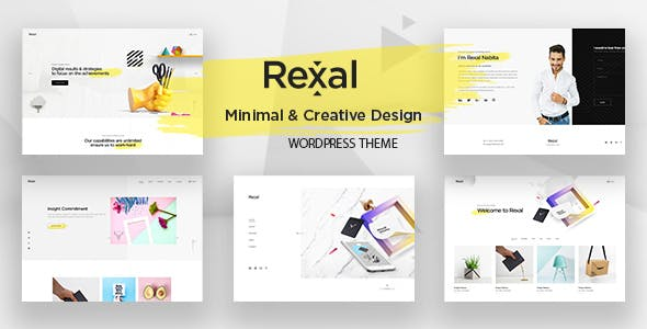 Rexal v1.0 - A Colorful and Modern Multipurpose Theme